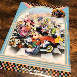 ミッキーマウス(ミッキーマウス)のディズニーランド Rock Mouse クリアファイル ミッキー(クリアファイル)