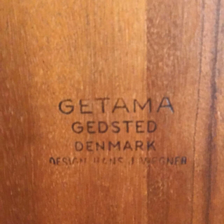 Hans・J・Wegner  GE375 オットマンのみ(オットマン)
