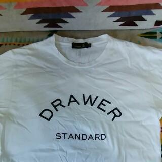 ドゥロワー(Drawer)の【値下げ】DRAWERシャツ(Tシャツ(半袖/袖なし))