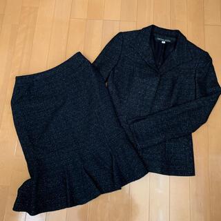 ミッシェルクラン(MICHEL KLEIN)のセレモニースーツ ツイード(スーツ)