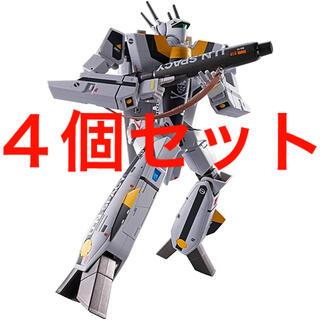 マクロス(macros)の4個 DX超合金 初回限定版 VF-1S バルキリー ロイ・フォッカースペシャル(模型/プラモデル)