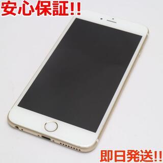 アイフォーン(iPhone)の美品 SIMフリー iPhone6S PLUS 64GB ゴールド (スマートフォン本体)