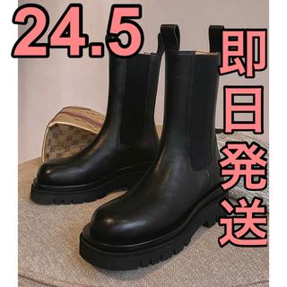 ザラ(ZARA)のチェルシー ブーツ サイドゴア トラックソール(ブーツ)