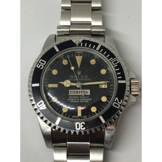 ROLEX(ロレックス)のROLEX ロレックス 1665 サブマリーナ comex cal.1570 メンズの時計(腕時計(アナログ))の商品写真