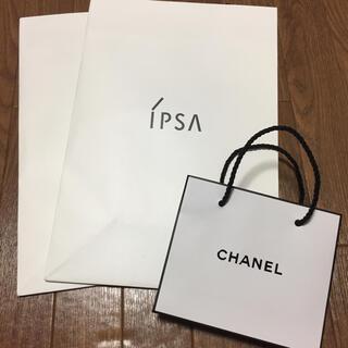 イプサ(IPSA)のIPSA イプサ、CHANEL シャネル 紙袋(その他)