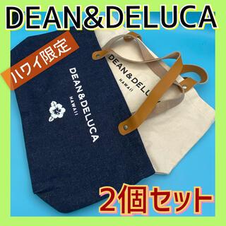 ディーンアンドデルーカ(DEAN & DELUCA)のDEAN&DELUCA ハワイ限定 エコバッグ トート 2個セット ランチバッグ(トートバッグ)