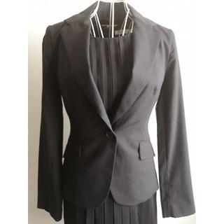 エムプルミエ(M-premier)の美品 M-PREMIER スタイリッシュジャケット(テーラードジャケット)