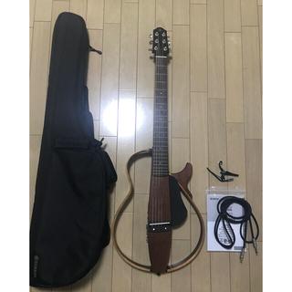 ヤマハ(ヤマハ)のYAMAHA SLG200S NT サイレントギター 美品(その他)