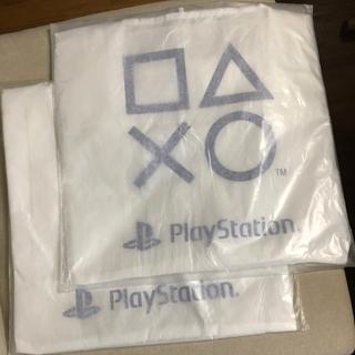 プレイステーション(PlayStation)の●PS5 エコバッグ×2コセット 白  非売品バッグ (その他)