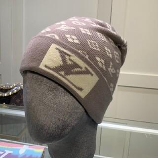 ルイヴィトン(LOUIS VUITTON)のL2  ニット帽  (ニット帽/ビーニー)