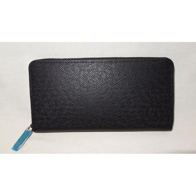 メンズ 長財布 ブラック メンズのファッション小物(長財布)の商品写真