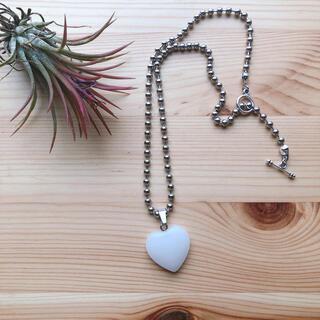 matte Heart necklace❶