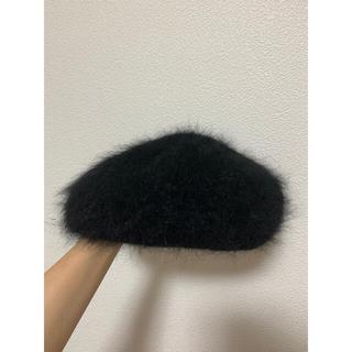レイビームス(Ray BEAMS)のRay BEAMS / アンゴラ ベレー帽(ハンチング/ベレー帽)