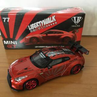 ニッサン(日産)の 1/64 LB★WORKS Nissan GT-R R35 タイプ1 (ミニカー)