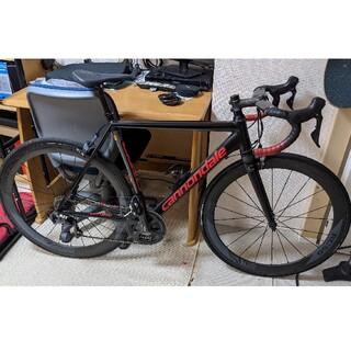 キャノンデール(Cannondale)の総額35万以上 重量7.8キロ キャノンデール ロードバイク(自転車本体)