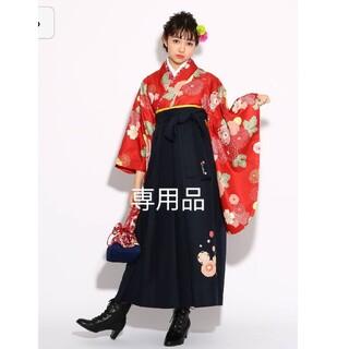 ピンクラテ(PINK-latte)のピンクラテ 袴 160 髪飾り付(和服/着物)