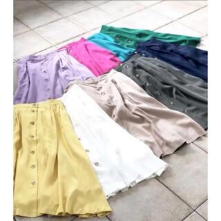 MEW'S REFINED CLOTHES フレアスカート(ロングスカート)