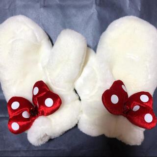 ディズニー(Disney)のミニーちゃん 手袋 ミトン(手袋)