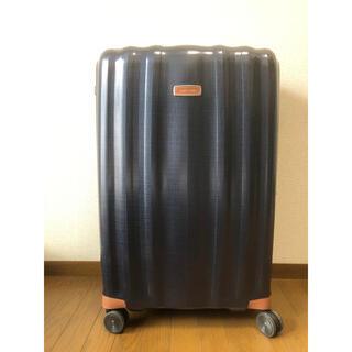 サムソナイト(Samsonite)のサムソナイト ライトキューブ デラックス82/31 ミッドナイトブルー(トラベルバッグ/スーツケース)