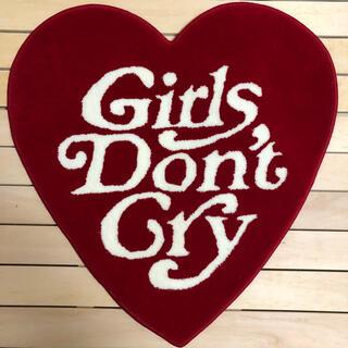 シュプリーム(Supreme)の新品未使用Girls Don't Cryハート型ラグマット(その他)