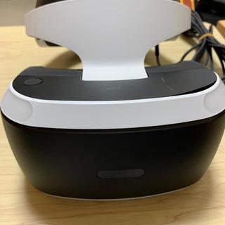 プレイステーションヴィーアール(PlayStation VR)のpsvr 本体 カメラ付き(家庭用ゲーム機本体)