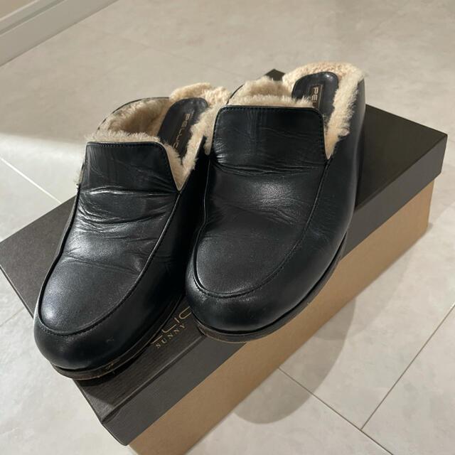PELLICO(ペリーコ)のペリーコサニー ファー 37 レディースの靴/シューズ(スリッポン/モカシン)の商品写真