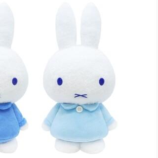 タイトー(TAITO)の【ライトブルー】ミッフィー SLサイズ ぬいぐるみ 2020 winter(キャラクターグッズ)