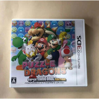 ニンテンドー3DS(ニンテンドー3DS)のスーパーマリオのパズドラ(家庭用ゲームソフト)
