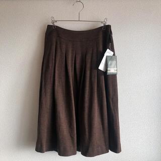 レリアン(leilian)の【新品・タグ付き】Leilian レリアン ウール 毛100% スカート(ひざ丈スカート)