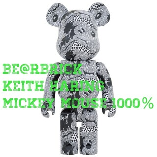 BE@RBRICK Keith Haring Mickey Mouse 1000(その他)
