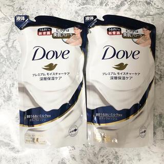 ユニリーバ(Unilever)のダヴ ボディウォッシュ プレミアムモイスチャーケア つめかえ用(360g)×2袋(ボディソープ/石鹸)