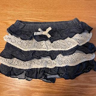 ハッカキッズ(hakka kids)のハッカベビー キュロットスカート 90(スカート)
