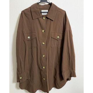 アングリッド(Ungrid)の【Ungrid】ビッグサイズシャツ(シャツ/ブラウス(半袖/袖なし))