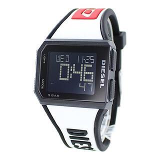 デジタル 男女兼用 軽い 腕時計 メンズ レディース ディーゼル ホワイト(腕時計(デジタル))
