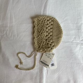 ボンポワン(Bonpoint)のtocoto vintage ボンネット(帽子)
