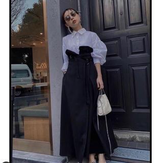 アメリヴィンテージ(Ameri VINTAGE)のAmeri vintage MILLEFEUILLE SHIRT DRESS(ロングワンピース/マキシワンピース)