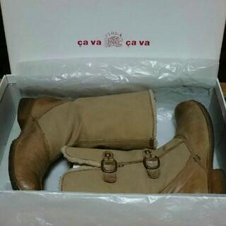 サヴァサヴァ(cavacava)のサヴァサヴァ 牛革ブーツ(ブーツ)