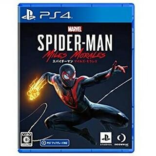 マーベル(MARVEL)の1 新品未開封 PS4 スパイダーマン マイルズ・モラレス(家庭用ゲームソフト)