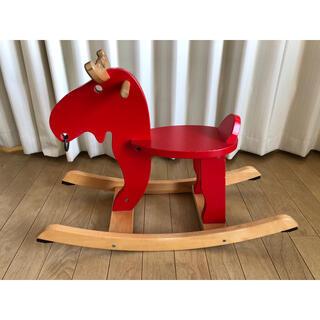 イケア(IKEA)のイケア 木馬 トナカイ(その他)