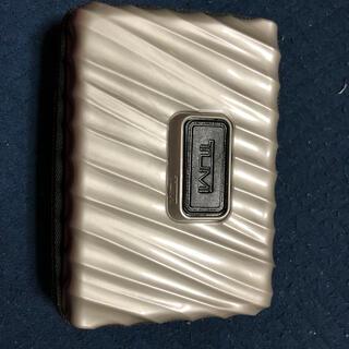 トゥミ(TUMI)のTUMI  デルタ航空 トゥミ デルタワン アメニティ 新品未使用 ハードケース(旅行用品)