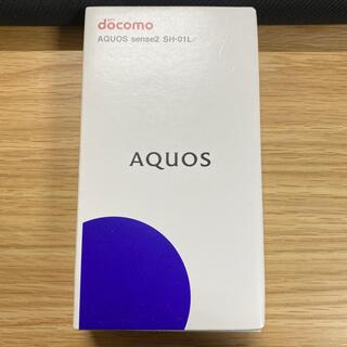 アクオス(AQUOS)のAQUOS sense2 SH-01L champagn gold(スマートフォン本体)