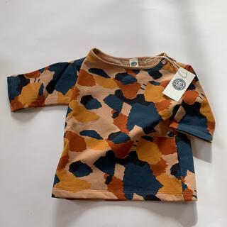 キャラメルベビー&チャイルド(Caramel baby&child )の新品未使用タグ付き ルプチジェルマン  スウェットトレーナー(Tシャツ/カットソー)