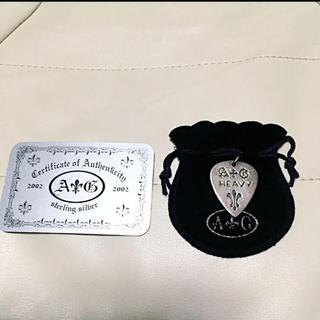 エーアンドジー(A&G)の12月25日まで値下げ『A&G』 ピック型ネックレス HEAVY(ネックレス)