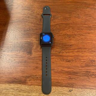 アップル(Apple)のapple watch series3 38mm アップルウォッチシリーズ3(腕時計)