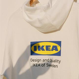 イケア(IKEA)のIKEA エフテルトレーダー パーカーS/M tシャツセット(パーカー)