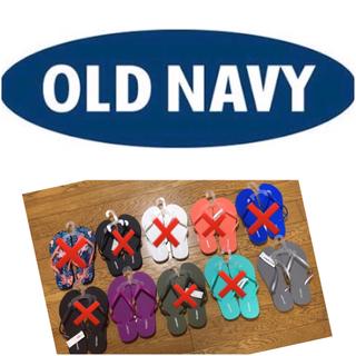 オールドネイビー(Old Navy)のOld navyビーサン ラスト1(ビーチサンダル)