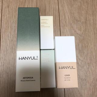 HANYUL ハンユル ヨモギ鎮静エッセンス、リップバーム 白菊 ヨモギ(美容液)