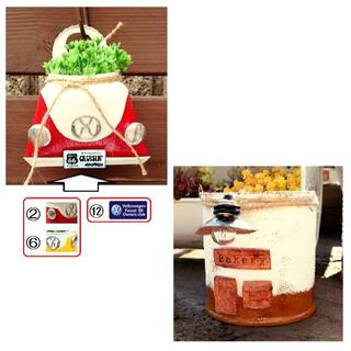 R1210a ワーゲンバック缶☆2個とランプのまちの缶B☆1個(その他)