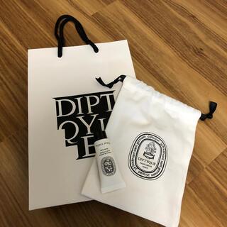 ディプティック(diptyque)のdiptyque 巾着 シャワーバーム ショップ袋(ショップ袋)