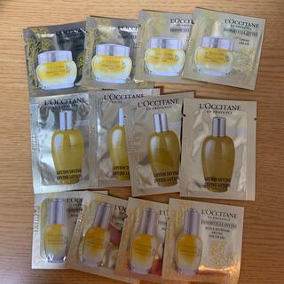 ロクシタン(L'OCCITANE)のロクシタン ディヴァイン サンプル 4回分 美容オイル 化粧水 クリーム(サンプル/トライアルキット)